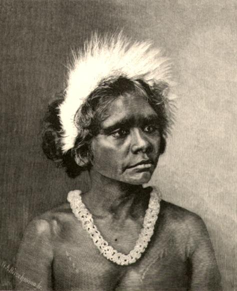 347 An Aboriginal Woman