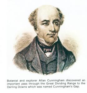 Allan Cunningham explorer