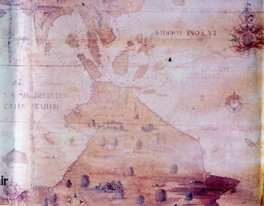 Dauphin map - 1536