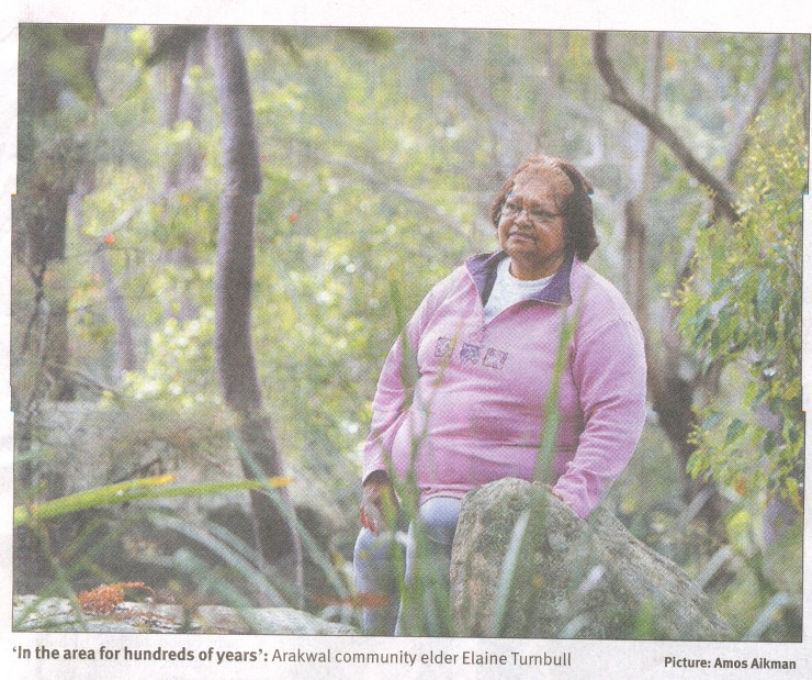 Aunty Elaine Turnbull – Widgabal Elder  Senior 'Wadjie' Lore Woman [Bundjalung Tribe Proper]