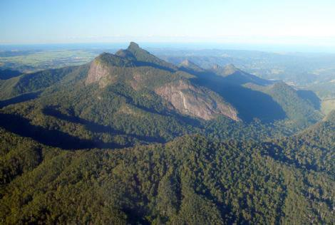 mt warning caldera - with Wollumbin