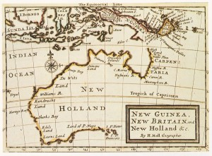 New Holand map -pre British