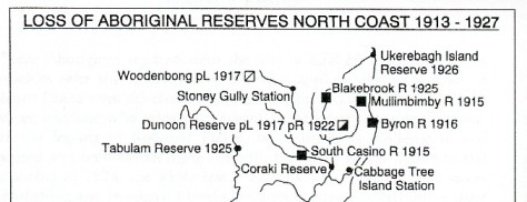 North NSW Aboriginal Reserve closures