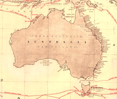 Oceania Early Discoveries