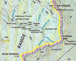 Alcheringa falls - Lamington Plateau