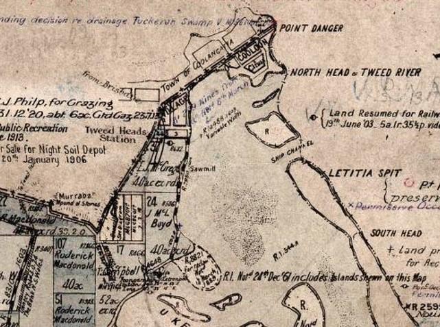 fingal tweed old map