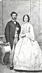 James Bray and his wife Isobella