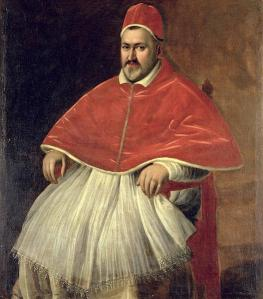 Pope Paul V - commenced papacy 16th May 1605 until 28th Jan 1621