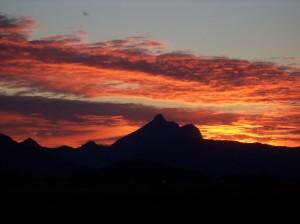 wollumbin sunset 1