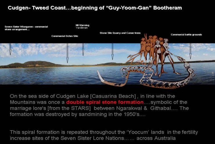 Cudgen Lake - 7 sisters